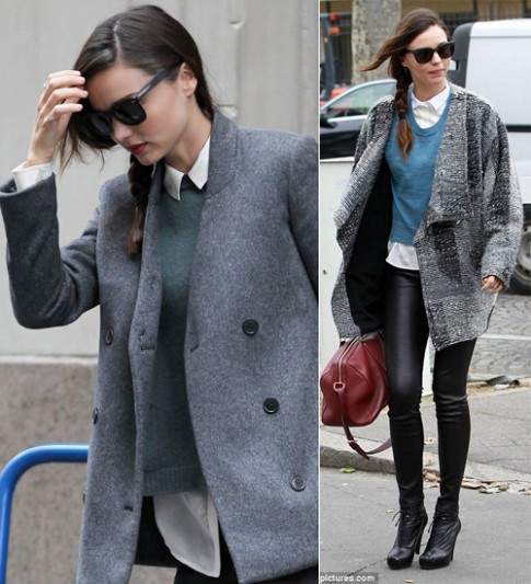 3 phong cách áo len thịnh hành mùa đông 2012