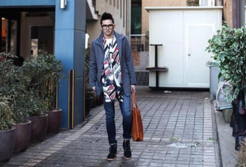 4 cách mix quần jean với giày dành cho chàng