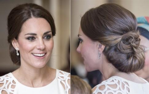 4 kiểu tóc thanh lịch của Kate Middleton