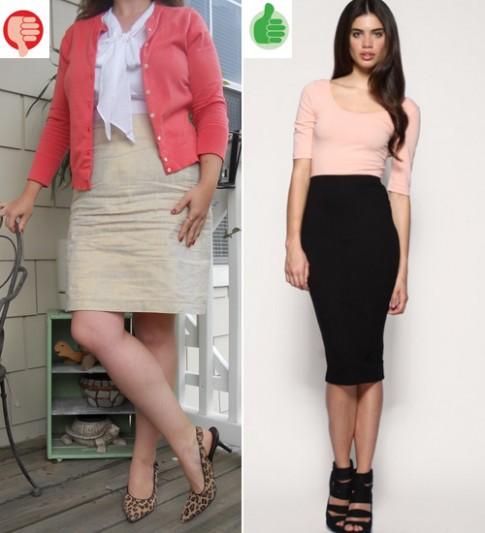 7 lỗi nên tránh khi chọn chân váy công sở
