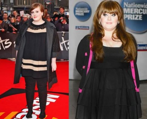 Adele - tín đồ váy đen