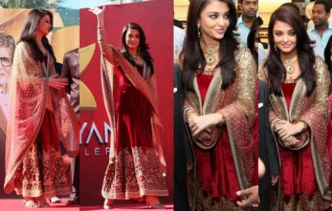 Aishwarya Rai mặc đẹp nhất tuần