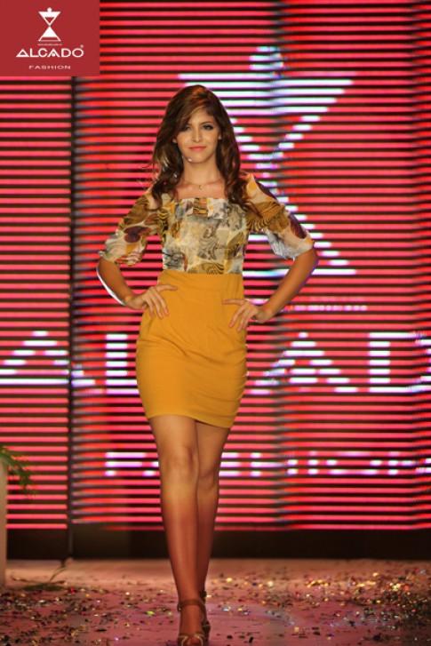 Alcado an tuong tai Ha Noi Fashion Week