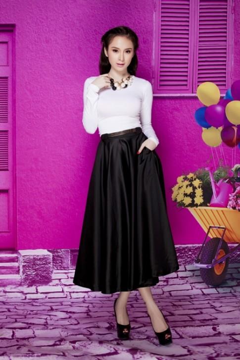 Angela Phương Trinh khéo diện đồ khoe dáng đẹp