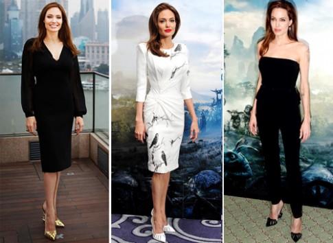 Angelina Jolie thiết kế giày 'Tiên hắc ám' giá gần 1.500 USD