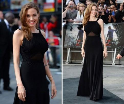 Angelina Jolie 'thống trị' thảm đỏ tuần qua