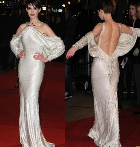 Anne Hathaway vào danh sách mặc đẹp nhất tuần