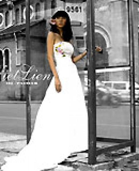 Áo cưới đơn giản mà lộng lẫy