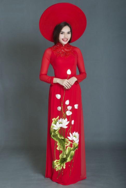 Áo dài Việt dự Asian Festival 2014 tại Mỹ