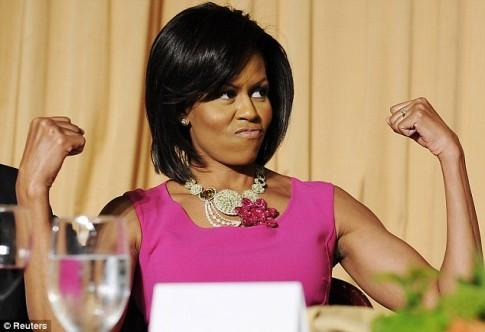 Bí quyết giữ dáng của đệ nhất phu nhân Michelle Obama