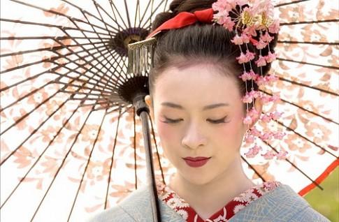 Bi quyet lam dep tu thao duoc cua cac geisha
