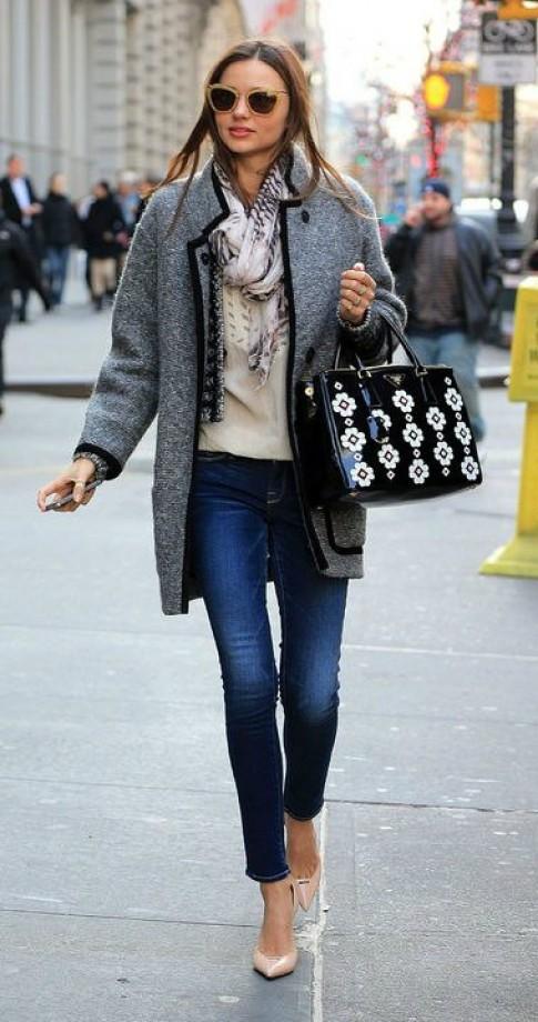 Bí quyết tạo street style đẹp như Miranda Kerr