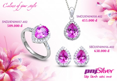 Bộ sưu tập 'Colors of your style' của PNJSilver