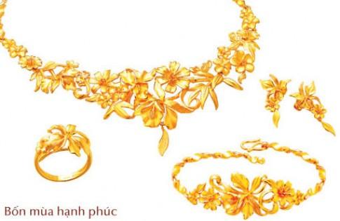 Bộ sưu tập 'Hạnh phúc Vàng' của PNJ