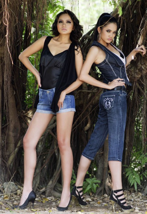 Bo suu tap jeans cua Nina