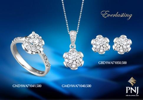 Bộ sưu tập kim cương tháng 4 của PNJ