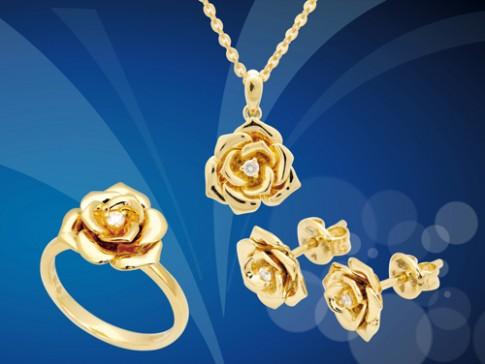 Bộ sưu tập nữ trang SJC 'Hương sắc vàng'