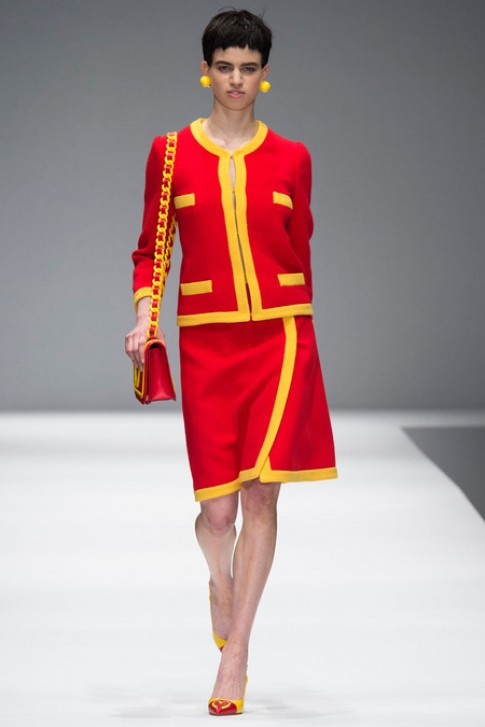 Bộ sưu tập thu đông 2014 của Moschino