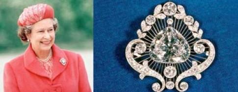 Bộ sưu tập trang sức của Nữ hoàng Anh