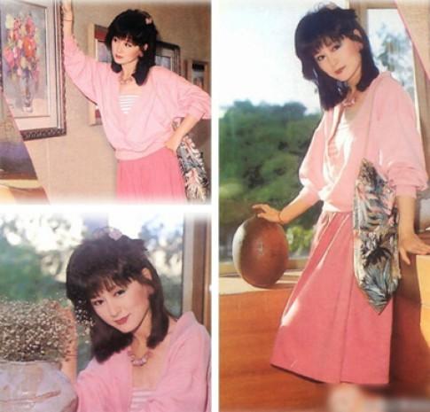 Bộ sưu tập váy áo màu hồng của Phan Nghinh Tử