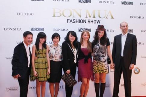 BONMUA fashion show thu đông - đêm thời trang đẳng cấp