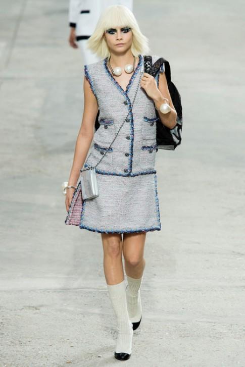 BST xuân hè 2014 của Chanel được ví như công trình nghệ thuật