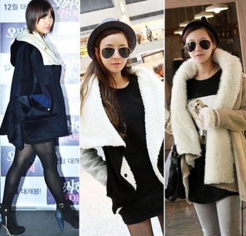 Các kiểu áo khoác yêu thích của sao Hàn
