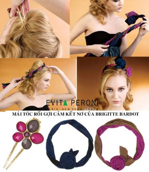 Các kiểu tóc thu đông của Evita Peroni