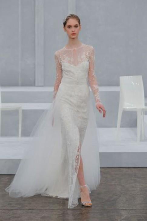 Các mẫu váy lộng lẫy cho đám cưới xuân hè 2015 (tiếp)