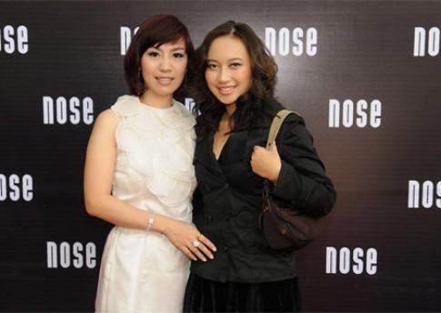 Các 'sao' dự khai trương thời trang Nose ở VN