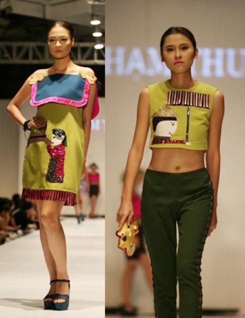 Các thiết kế của sinh viên Học viện Thời trang London