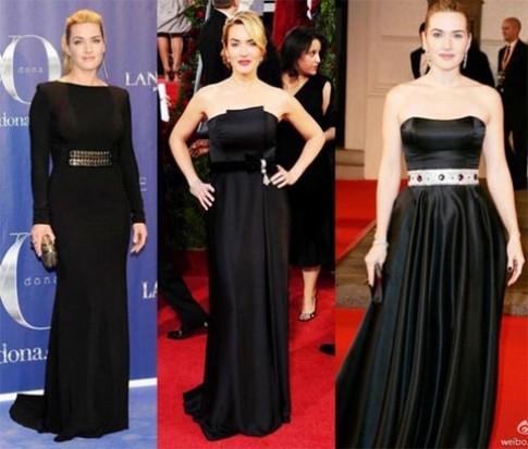 Cách mặc váy đẹp dù tròn trịa như Kate Winslet