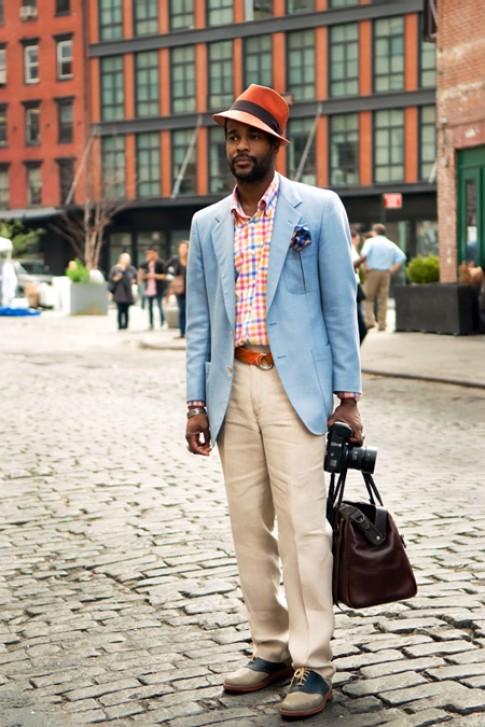Cách phối vest mang phong cách retro của Karl-Edwin Guerre