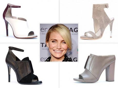 Cameron Diaz lần đầu ra mắt bộ sưu tập giày