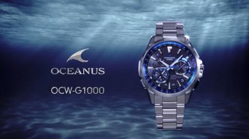 Casio Oceanus - dòng sản phẩm mới công nghệ Nhật Bản