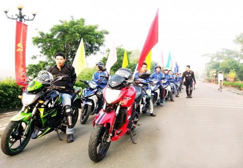 Câu lạc bộ Exciter đặc biệt ở Biên Hòa