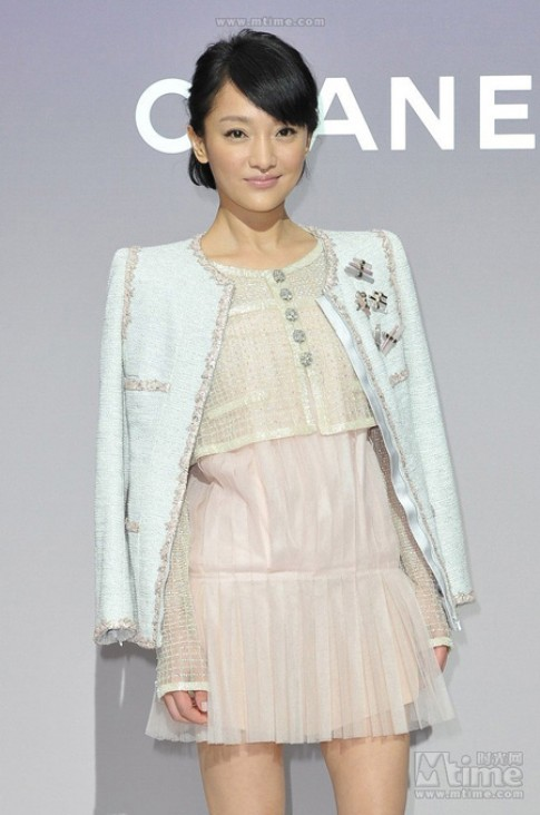 Châu Tấn làm khách mời của Chanel