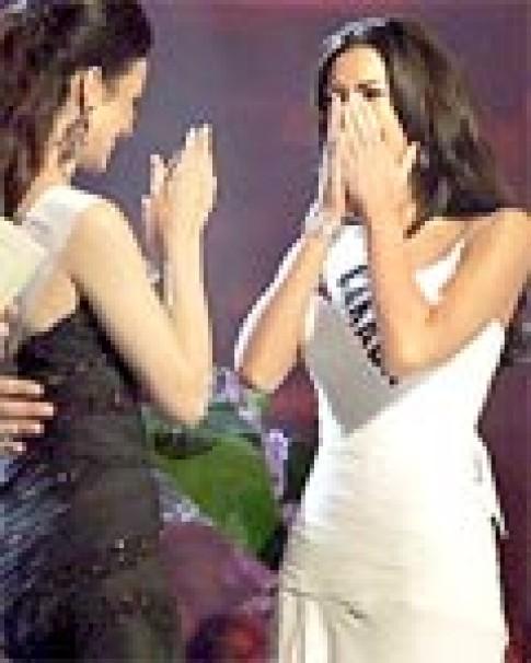 Chùm ảnh Hoa hậu Hoàn vũ đăng quang