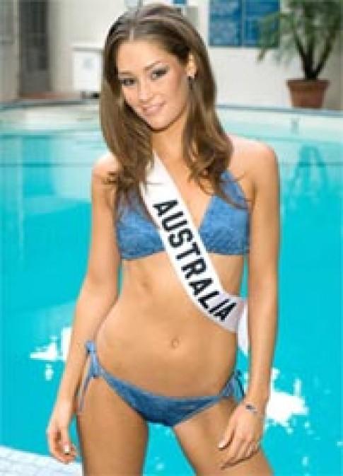 Chùm ảnh thí sinh Miss Universe trình diễn bikini