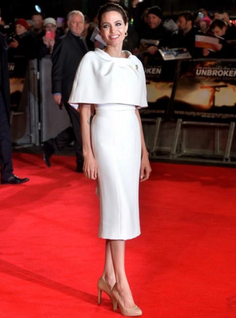 Chương Tử Di, Angelina Jolie mặc đẹp nhất tuần