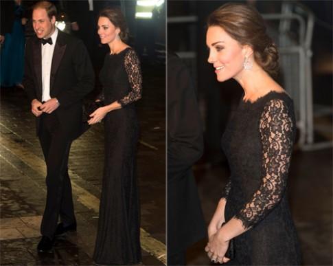 Công nương Anh Kate Middleton mặc đẹp nhất tuần