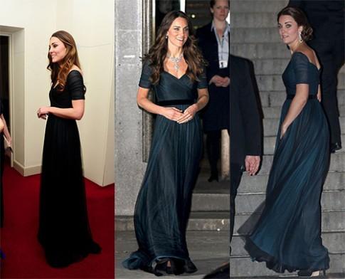Công nương Kate Middleton biến tấu linh hoạt khi dùng đồ cũ