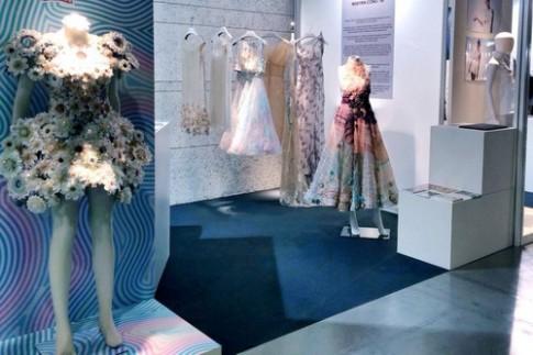 Công Trí giới thiệu gian hàng Haute Couture tại Italy