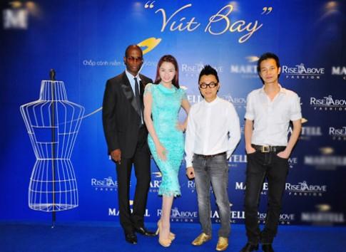 Công Trí khen ngợi thí sinh 'Rise Above Fashion 2012'