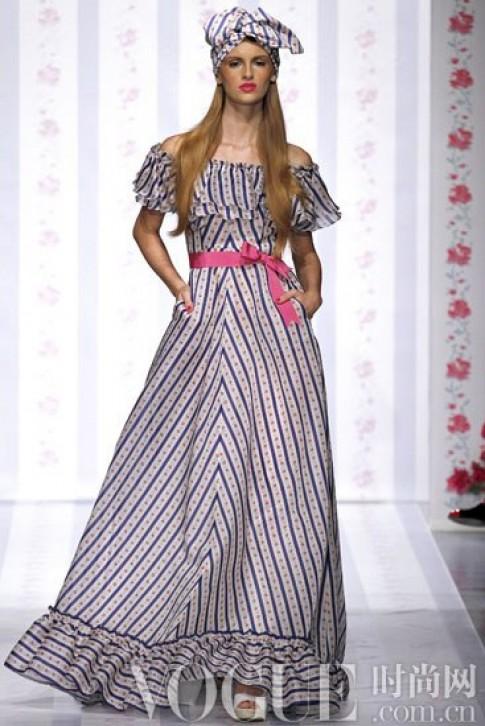 Đa dạng váy xòe hè 2013