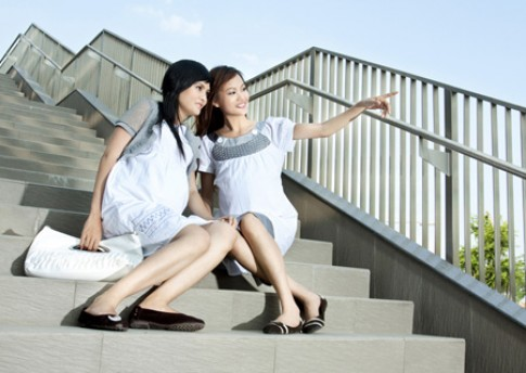 Đầm bầu thời trang công sở Anna Nina