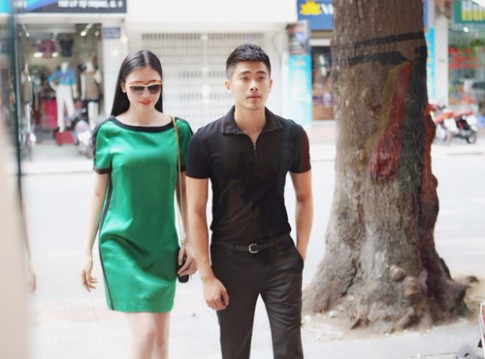 Dàn mẫu thử váy áo dự chung kết Miss Ngôi Sao