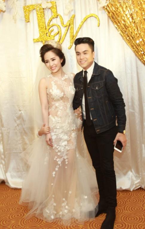Dàn sao Việt dự đám cưới Quỳnh Nga