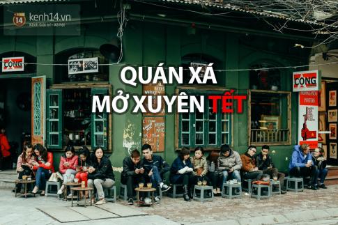 Danh sách quán xá mở cửa xuyên Tết ở hai đầu cầu Hà Nội - Sài Gòn