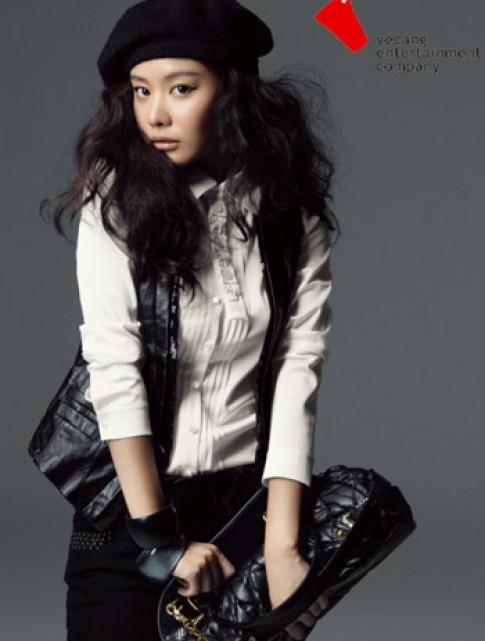 Đệ nhất mỹ nhân Hàn Quốc biến hóa với tóc